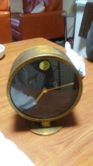 Antique Clock & antique candle holder for Sale in Chicago, IL