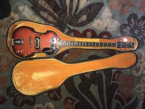 1960s Conrad Beatle Bass Sunburst Guitar for Sale in Columbia, MD