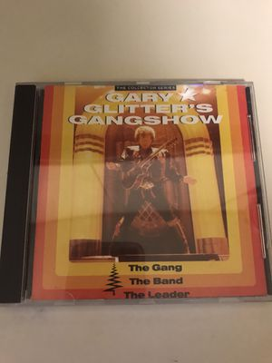 GARY GLITTER'S GANGSHOW THE GANG, THE BAND, THE LEADER CD MUSIC for Sale in Costa Mesa, CA