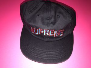 New Supreme Hat Black 6 panel cap for Sale in Alexandria, VA