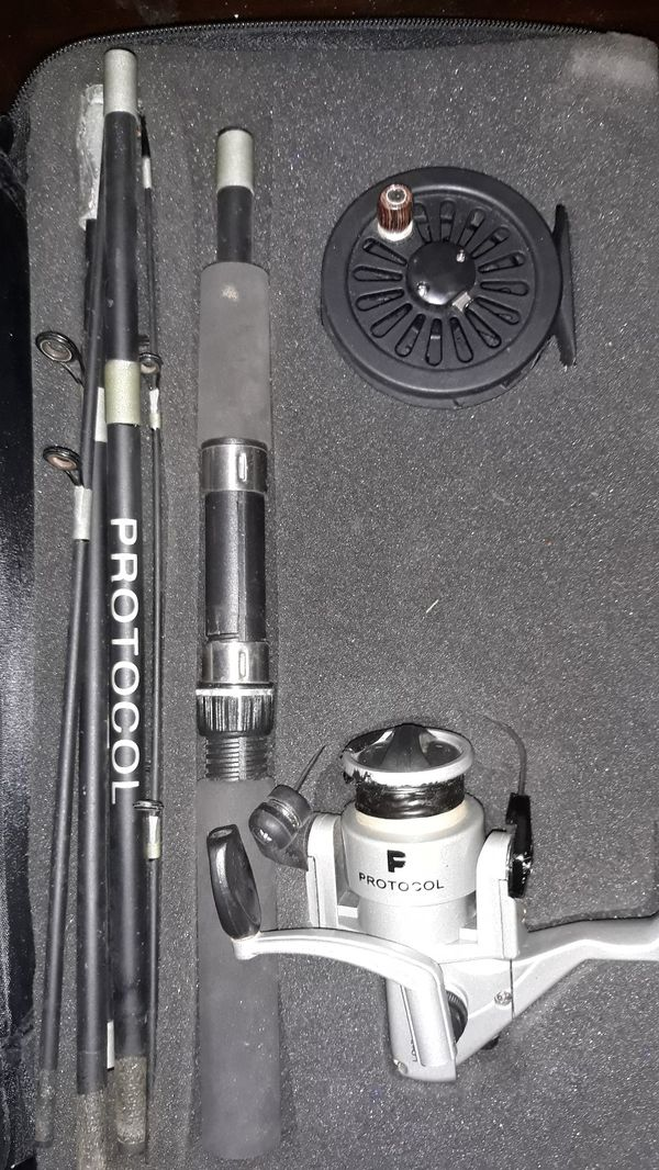 Protocol fishing rod and reel