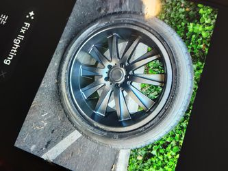 20in (Helo) rims and tires for Sale in Seattle,  WA