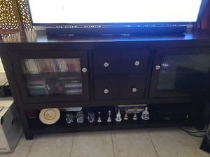 Tv stand with storage for Sale in Queens, NY