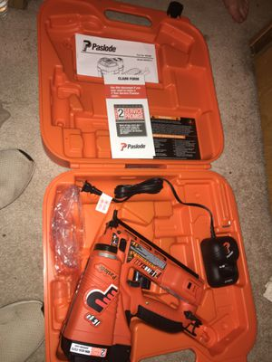 Paslode cordless nail gun IM250A for Sale in Tifton, GA
