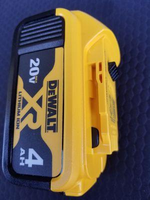20 V DeWalt XR 4.0 Battery NEW !!! for Sale in Bakersfield, CA