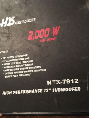 Competition speaker for Sale in Columbus, MS