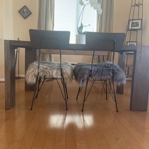 Gorgeous Crate & Barrel and CB2 Unique Dining Set for Sale in Potomac, MD