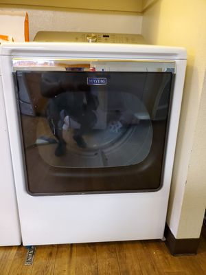 Whirlpool washer and Maytag dryer lightly used for sale both electric for Sale in Oakland, CA