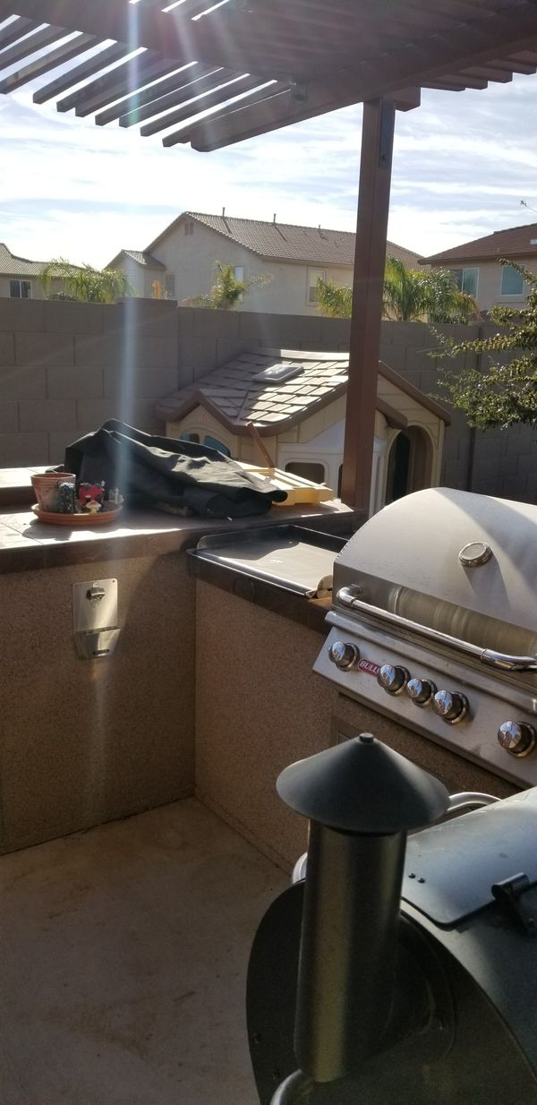Outdoor bar and grill. Natural gas, Bull grill. for Sale ...