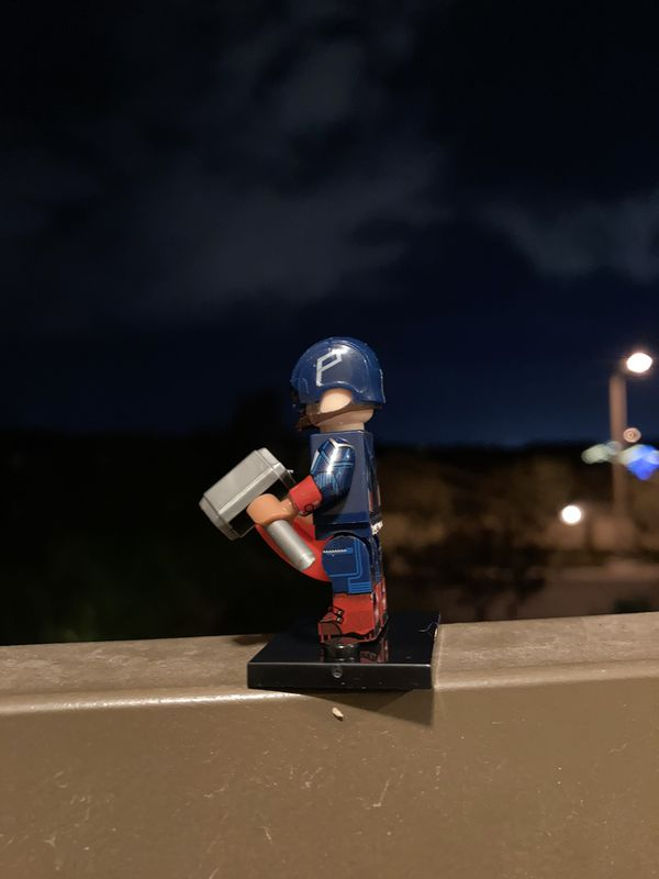 LEGO Star Wars Minifigures Captain America Avengers MCU Lot Toys