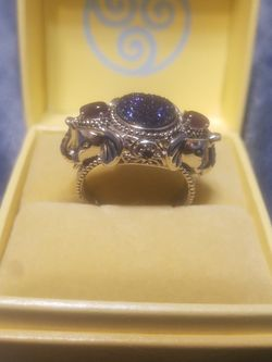 Sajen Silver Elephant Ring for Sale in Geneva,  FL