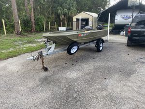 Tracker grizzly Jon boat for Sale in Loxahatchee, FL
