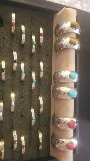 Nickle Silver Bracelets for Sale in Chinle, AZ