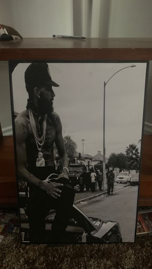 Nipsey hussle picture brand new for Sale in Riverside, CA
