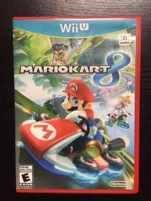 MARIO KART 8 for Nintendo Wii U for Sale in San Diego, CA