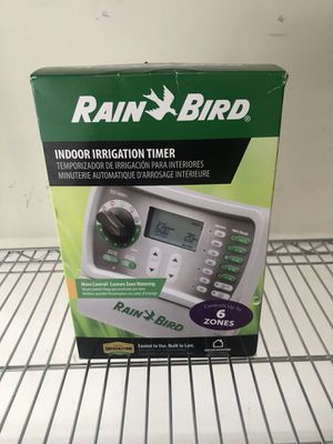 New Rain Bird SST-600IN 6 Zone irrigation Sprinkler Timer Controller for Sale in Wood Dale, IL