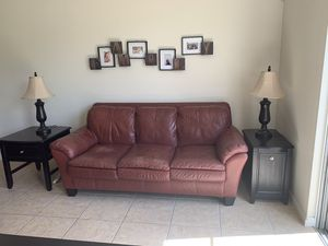 Sofa, and chair it's ottoman only tables already sold. for Sale in Montverde, FL