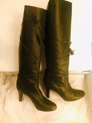 LUCIELLE knee length genuine leather boots (Banana Republic) for Sale in Tempe, AZ