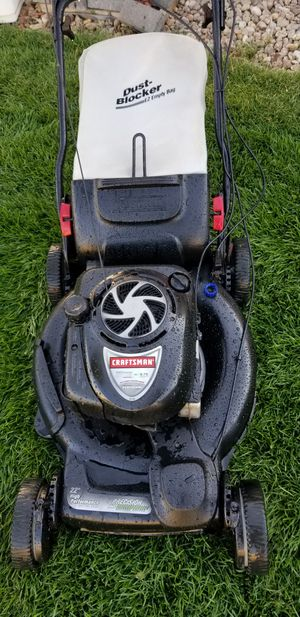 Craftsman 6.75HP Self propelled lawnmower - excellent condition for Sale in Aurora, CO