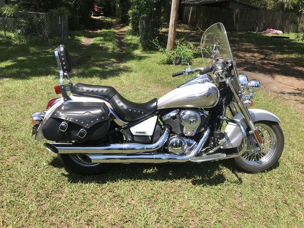2008 kawasaki classic LT 900 motorcycle, mileage 2,782