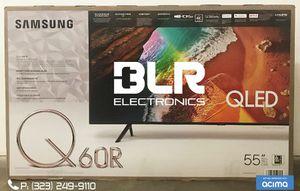 SAMSUNG 55'' Q60R QLED SERIES 4K SMART LED UHDTV W/HDR 2160P 240HZ for Sale in Montebello, CA