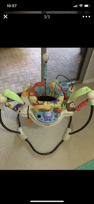 Jumperoo jumping toy toddler kids for Sale in Phoenix, AZ