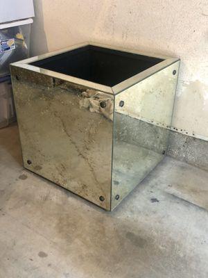 Large Antique Mirrored Planter Box for Sale in Costa Mesa, CA