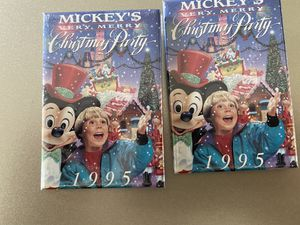 Disney Classic Very Merry Christmas Party 1995 Pins for Sale in Douglasville, GA