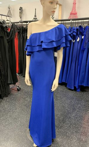 Royal blue ruffled dress for Sale in McAllen, TX