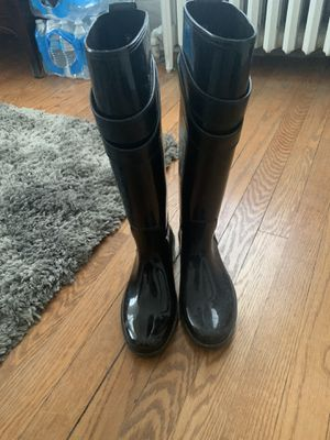 Coach rain boots for Sale in Chevy Chase, MD
