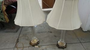 2 vintage lamps very good shape for Sale in Artesia, CA
