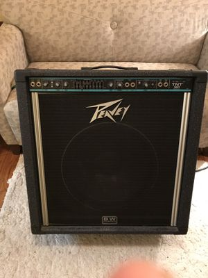 PEAVY TNT160 Bass Amplifier with BLACK WIDOW™ SUPER STRUCTURE. for Sale in Woodbine, MD