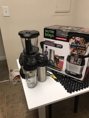 Nutri Ninja Auto-iQ Compact Blending System BL492 w/ smooth boost NIB for Sale in Germantown, MD