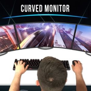 """Sceptre 24"""" Curved 144Hz GAMING ! LED Monitor for Sale in Pompano Beach, FL"""
