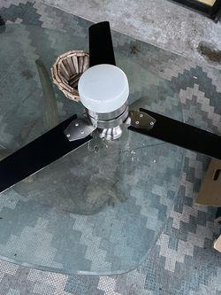 Black Ceiling Fan/Light for Sale in Pflugerville,  TX