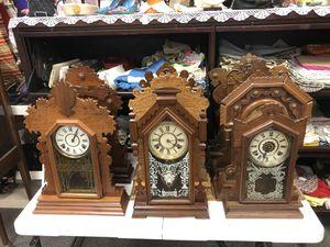 12 Ginger Bread Kitchen Clocks for Sale in Lenexa, KS