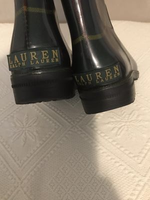Ralph Lauren rain boots for Sale in Falls Church, VA