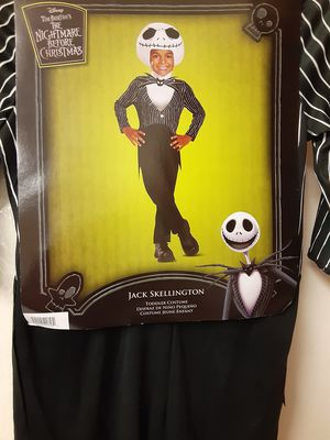 The Nightmare Before Christmas Jack Skellington Toddler 2T Costume for Sale in Miami, FL