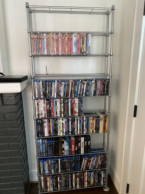 Blu Ray DVD rack for Sale in Charlotte, NC