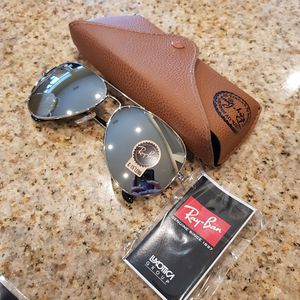 Ray-Ban Aviator Classic/Silver-Silver for Sale in Katy, TX