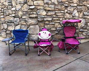 Camping chairs for kids for Sale in Vallejo, CA