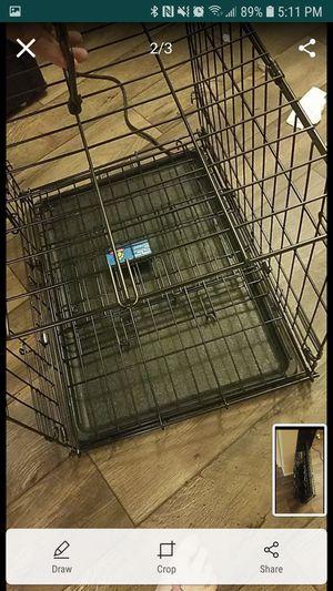 Folding metal dog crate for Sale in South Salt Lake, UT