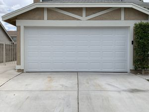 New garage door 16/7 (colors). almond. sandstone white. dark brown for Sale in Las Vegas, NV