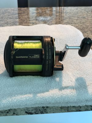 Shimano TLD-25 Fishing Reels (pair of 2) for Sale in Miami, FL