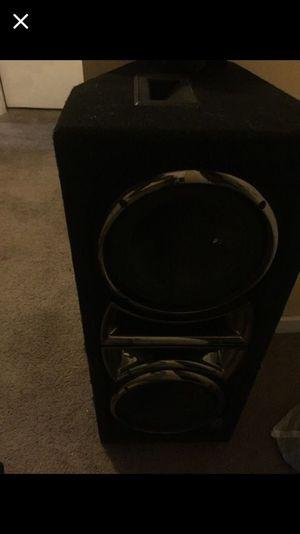 Audio pro 4 foot speaker for Sale in Little Egg Harbor Township, NJ