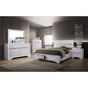 We have a nice 👍 queen bedrooms set same as a picture on sale 🎈🎈🎈🎈$998 available in black,gray,white for Sale in Fresno, CA