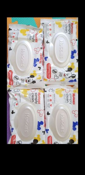 Baby huggies wipes for Sale in West Palm Beach, FL