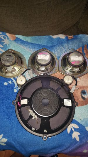set bose car speakers for Sale in Houston, TX