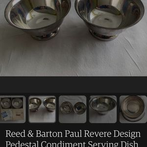 Reed & Barton Serving Dishes (2) for Sale in Burien, WA