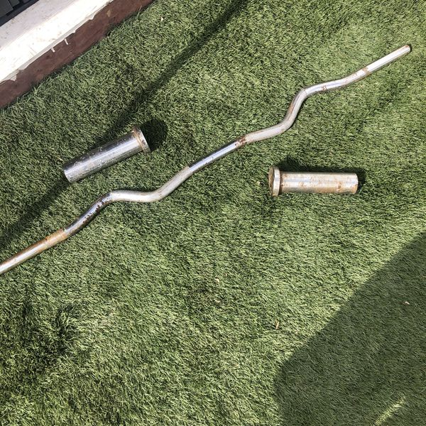 Olympic Curl Bar. For Parts